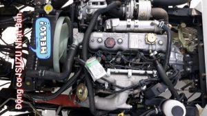 động cơ của IZ65 Gold là động cơ ISUZU Nhật Bản, Hỗ trợ trả góp 85% giá trị xe.