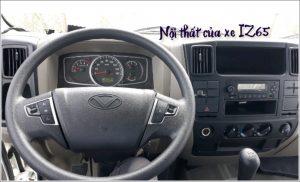 nội thất xe tải iz65 3t5