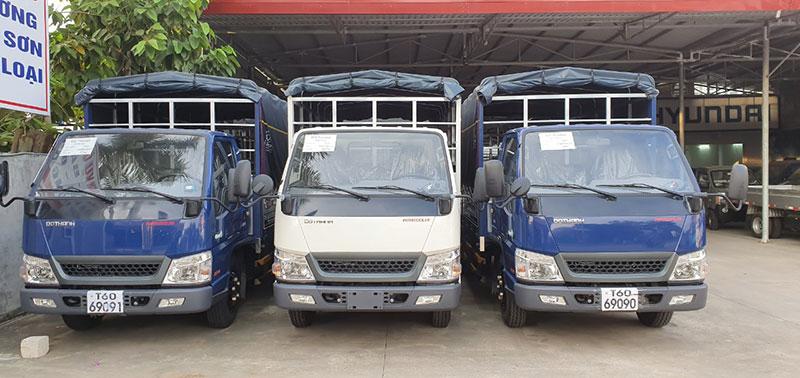 Hình ảnh Xe tải Đô Thành IZ49 2.4 tấn Thùng bạt