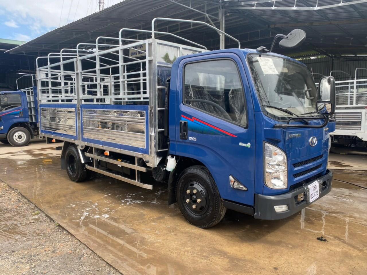 Xe tải dothanh iz65 thùng mui bạt 3T5