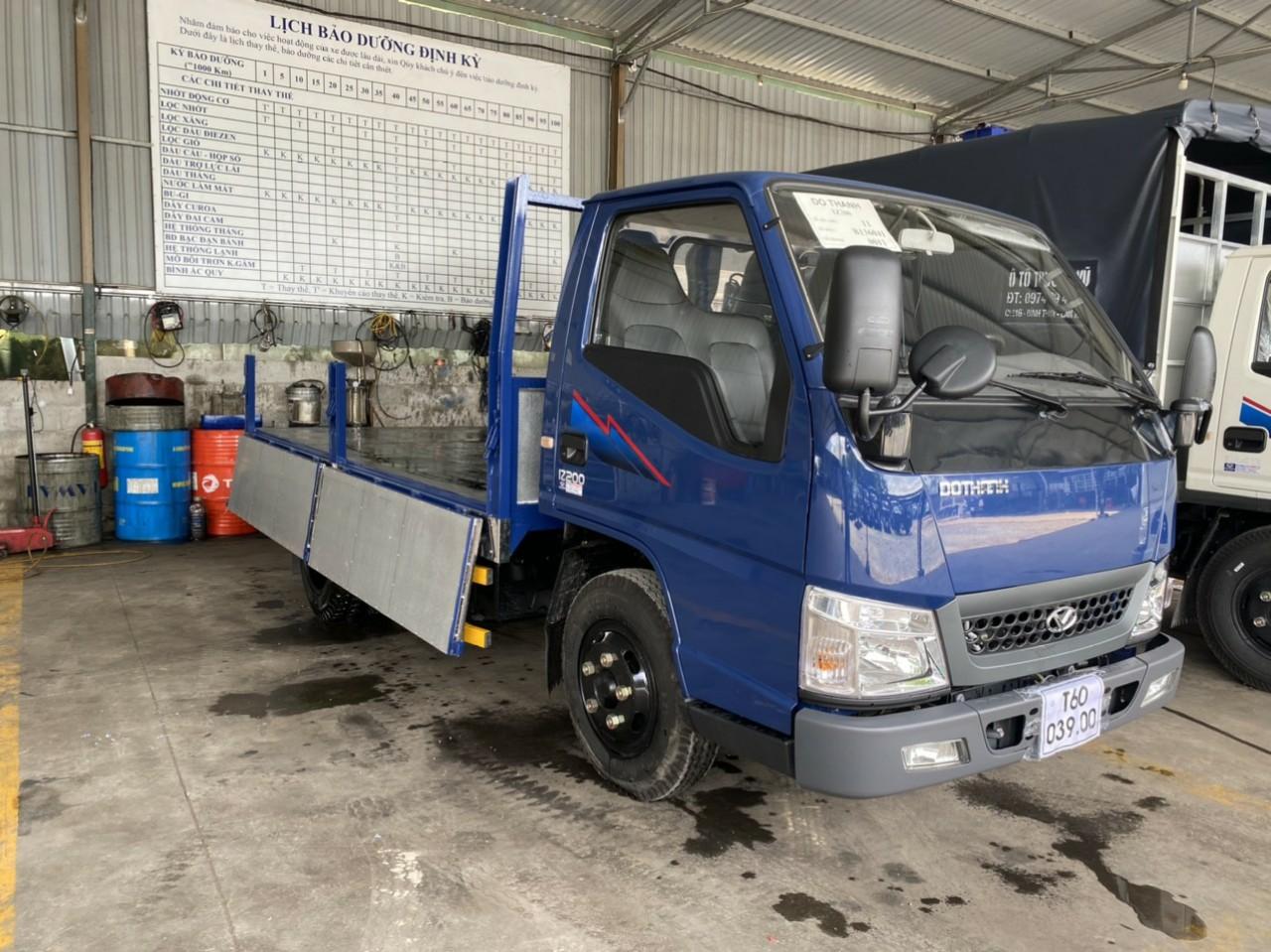 Xe tải Đô Thành IZ200 Thùng Lửng